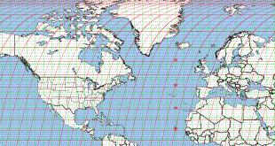 کاربرد نقشه یو تی ام UTM