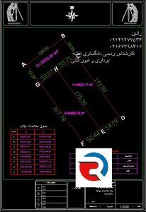 جانمایی ثبتی ملک در تهران