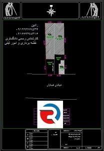 نقشه UTM در منطقه 4 تهران